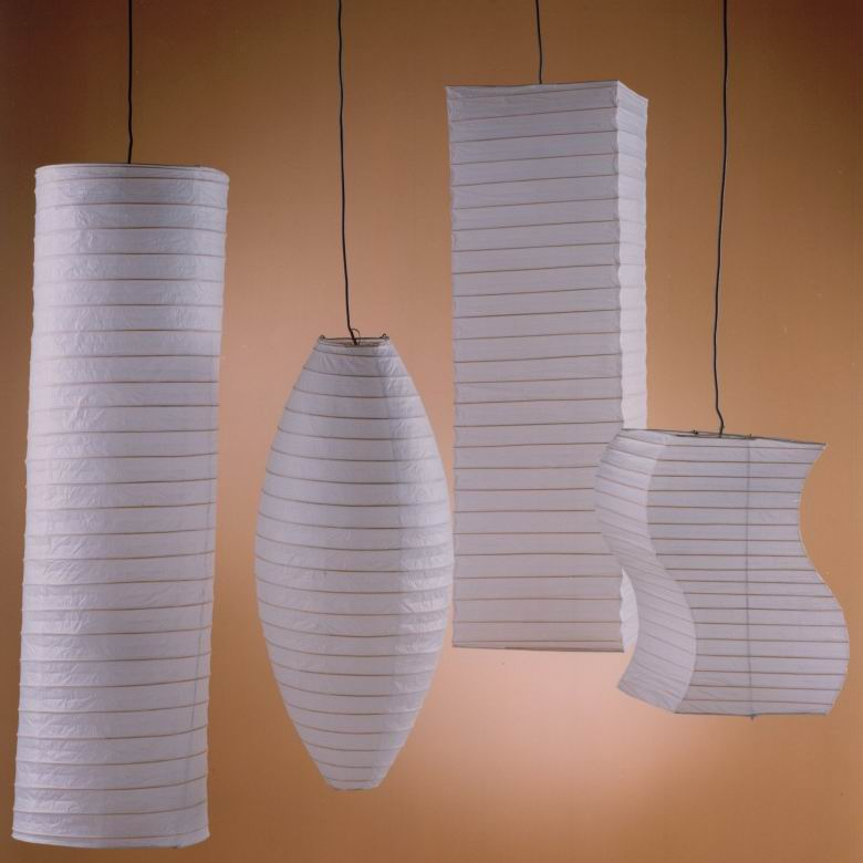 Different styles paper lanterns