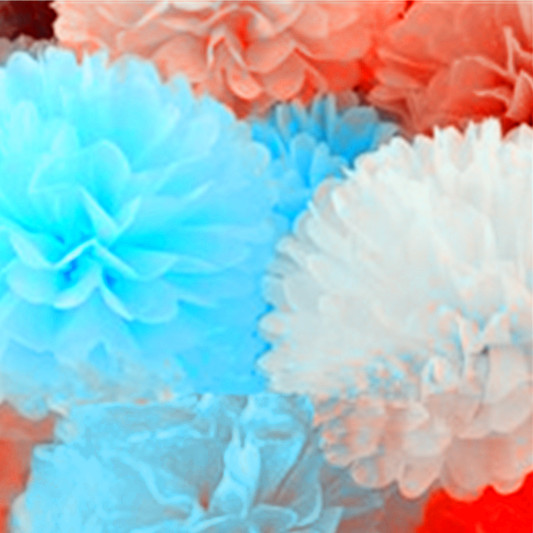 "16"" Tissue Paper PomPoms Ball"