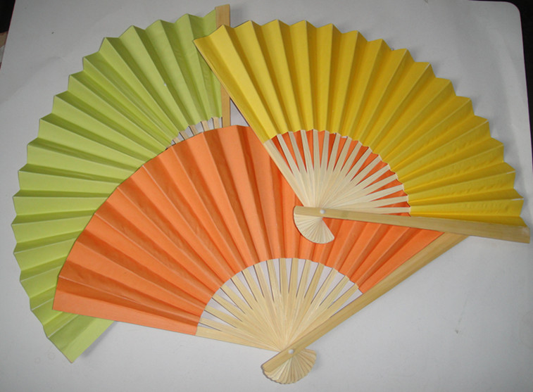 Chinese Bamboo Hand Fans