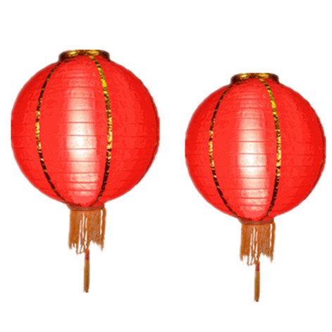 New Year Nylon Lanterns
