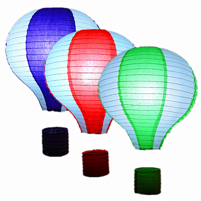 Air Balloon Paper Lanterns