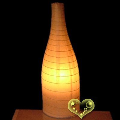 Bottle paper lanterns