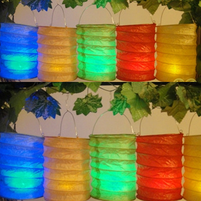 Led Candle Paper Lanterns