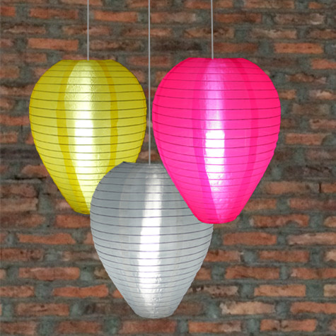 Egg Nylon Lanterns