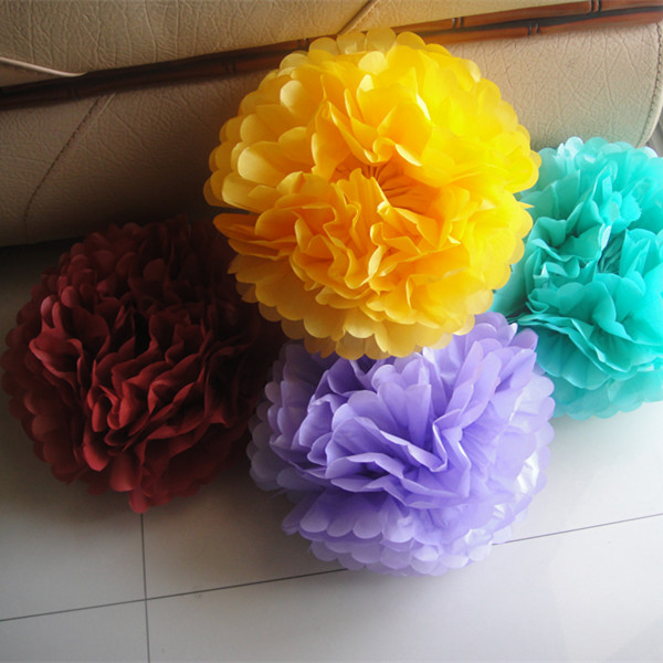 "6"" Tissue Paper PomPoms Ball"