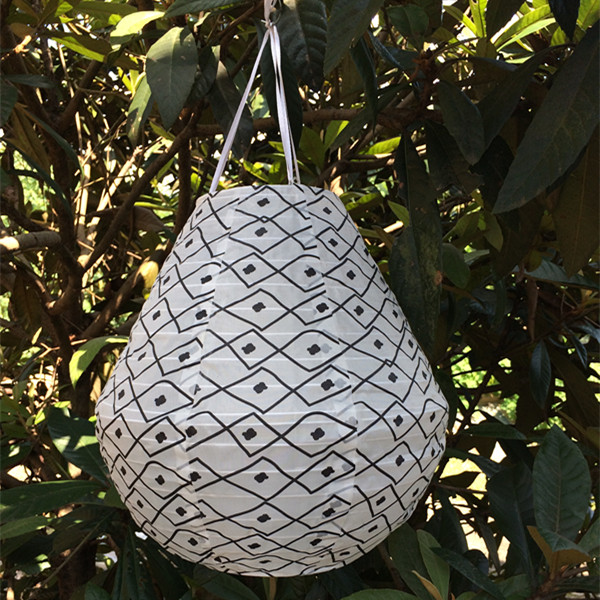 Irregular Solar nylon lanterns