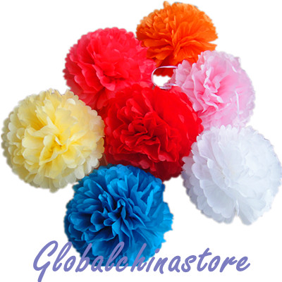"12"" Tissue Paper PomPoms Ball"