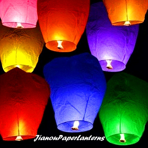 wholesale sky flying lanterns
