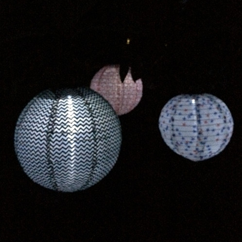 Patterned Solar Lanterns