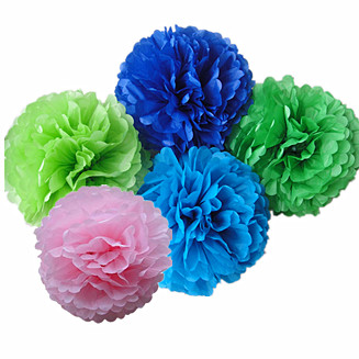 Tissue Pom poms bulk Wholesale