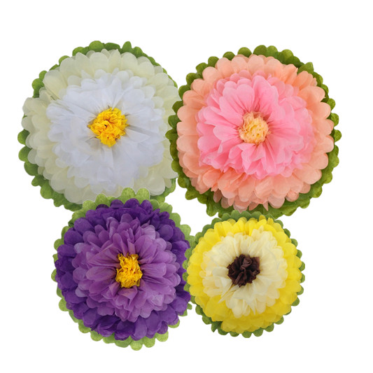 wholesale paper tissue flower