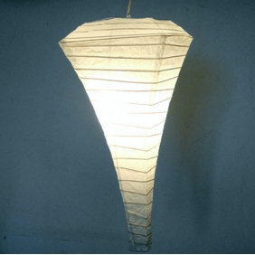 White Conical Paper Lanterns