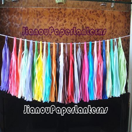 Paper Tassel Garlands