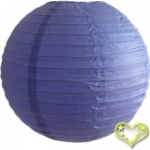 3.5 Inch Even Ribbing Blueberry Paper Lanterns(10 of pack)
