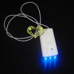 3 LED BLUE LIGHT