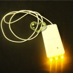 3 LED YELOW LIGHT