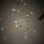 Steady-on White 20 Bulbs Led Battery Party String Lights