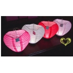 Heart Basket 3Led Battery Operated Lantern
