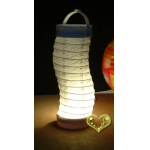 Silkworm 3Led battery Lantern-White