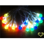 Crystal Ball Flash 20 Led String Lights