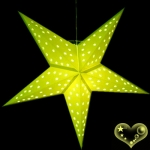 24'Light Lime Star Lantern
