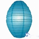"10"" Turquoise Olives Paper Lantern"