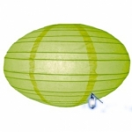"16"" UFO Light Lime Paper Lantern"
