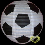 "16"" Football Patterned Paper Lantern(150 of case)"