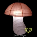 Brown with White Mushroom Paper Lanterns(100 of case)