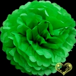 "12"" Tissue Paper Pom Poms Ball - Grass(4 pieces)"