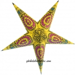 "24""Yellow w/ Window Star Lantern"