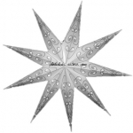 "24"" 9 Point Embroidery Pattern Star Lantern"