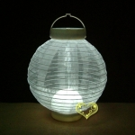 Led battery Pearl Fabric lanterns