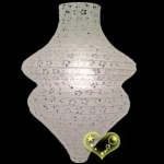 Beehive Eyelet Paper Lantern-wholesale (150 of case)