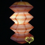 Color stripes Gear Paper Lanterns