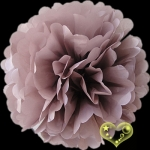 "8"" Tissue Paper Pom Poms Ball - Latte(4 pieces)"