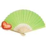 "9"" Lime Paper Hand Fans(200 of case )"