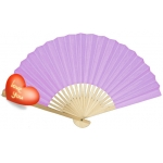 "9"" Lilac Paper Hand Fans(200 of case)"