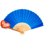 "9"" Dark Blue Paper Hand Fans(200 of case)"