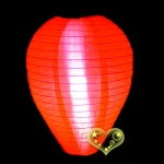 "10"" Egg Nylon Lanterns-Red"