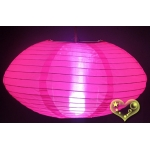 "14"" Saturn Nylon Lanterns-Hot Pink"