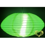 "14"" Saturn Nylon Lanterns-Lemon Green"