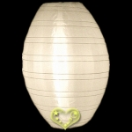 "10"" Kawaii Nylon Lanterns-Beige"