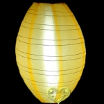 "10"" Kawaii Nylon Lanterns-Gold Yellow"