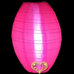 "12"" Kawaii Nylon Lanterns-Hot Pink"