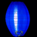 "10"" Kawaii Nylon Lanterns-Dark Blue"