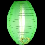 "12"" Kawaii Nylon Lanterns-Lemon Green"