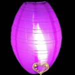 "12"" Kawaii Nylon Lanterns-Violet"