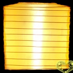"10""Square Nylon Lanterns-GOLD YELLOW"