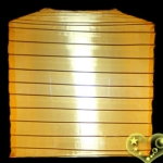 "10""Square Nylon Lanterns-ORANGE"